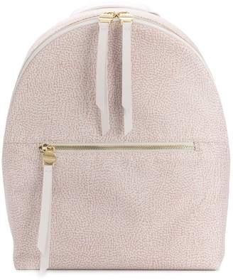 Borbonese classic zipped backpack