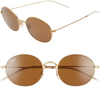 Ray-Ban 33mm Round Sunglasses