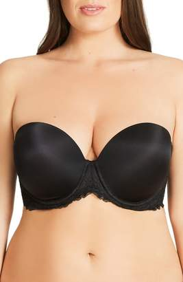 City Chic Strapless Underwire Contour Bra