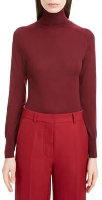 Victoria Beckham Turtleneck Merino Wool Sweater