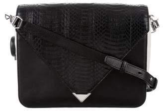 Alexander Wang Large Embossed Leather Prisma Envelope Bag