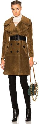 Burberry Prorsum Suede Coat $7,500 thestylecure.com