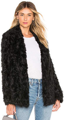 Theory Clairene Faux Fur Coat