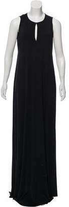 Bottega Veneta Belted Maxi Dress