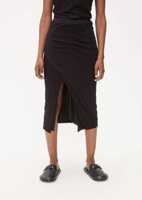Rick Owens Lilies Front Slit Skirt