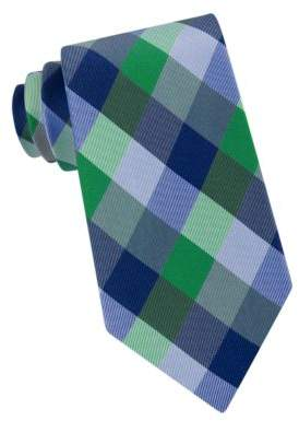 Lord & Taylor The Mens Shop Tyler Tartan Silk Woven Tie