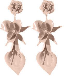 Jennifer Behr Lydia Flower Drop Earrings