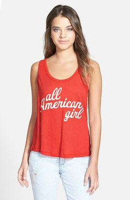 Women's Wildfox 'All American Roadtrip' Tank $52 thestylecure.com