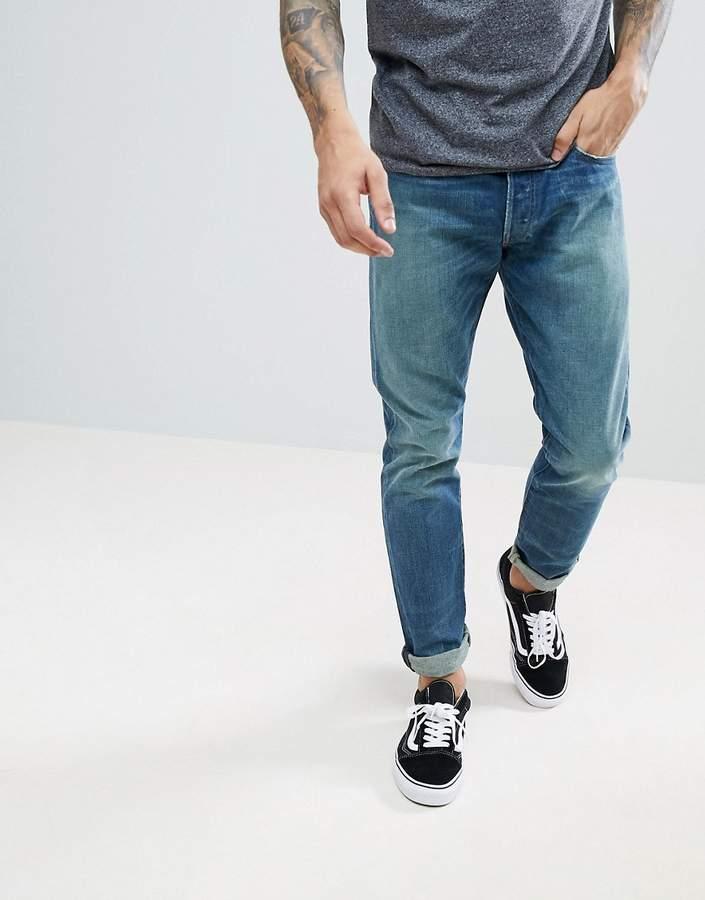 – Sullivan – Schmale Stretch-Jeans in mittlerer Vintage-Waschung