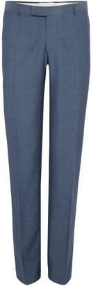 Richard James Men's Mayfair Two Tone Flat Front Trouser