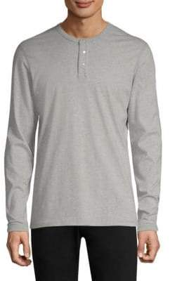 Reigning Champ Long Sleeve Henley T-Shirt