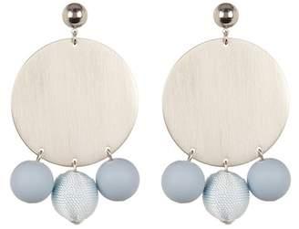 Rebecca Minkoff Disco Ball Statement Earrings