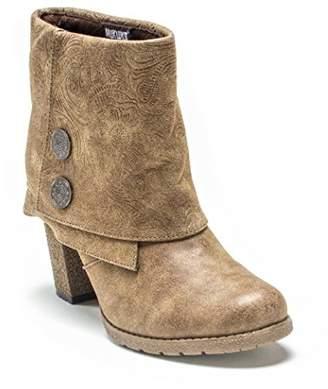 Muk Luks Women's Chris Embossed Cuff Winter Boot