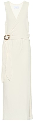 Nanushka Subah terry cloth dress