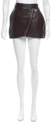Toga Leather Mini Skirt w/ Tags