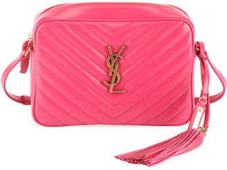 Saint Laurent Lou Medium Monogram Calf Crossbody Bag
