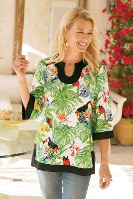 Soft Surroundings Paradise Tunic