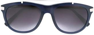 DSQUARED2 Eyewear silver-toned aviator sunglasses