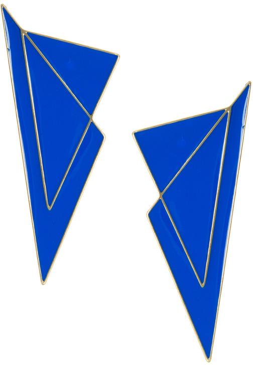 Asos Triangle Stud Earrings