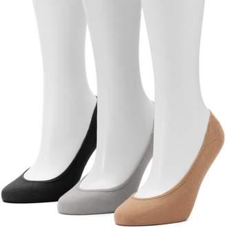 Apt. 9 Women's 3-pk. Low Cut Non-Slip Liner Socks