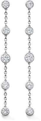 06dac653f1c Gossamer 18ct White Gold 0.67cttw Diamond Drop Earrings
