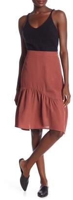 CODEXMODE Flounce Midi Skirt