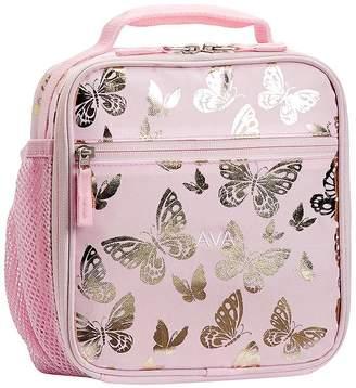 Pottery Barn Kids Mackenzie Pink Gold Foil Butterflies Backpacks