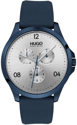 HUGO Risk Silver Watch