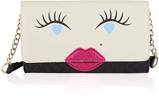 Betsey Johnson LUV BETSEY By Kitch Kisses Clutch