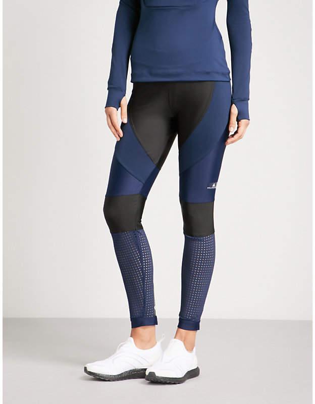 Run stretch-jersey leggings
