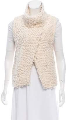 IRO Bouclé Knit Vest