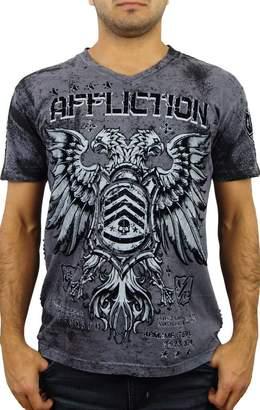 Affliction Coaxial Short Sleeve V-neck T-shirt XXXL