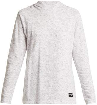 PEPPER & MAYNE Hooded cotton-blend sweatshirt