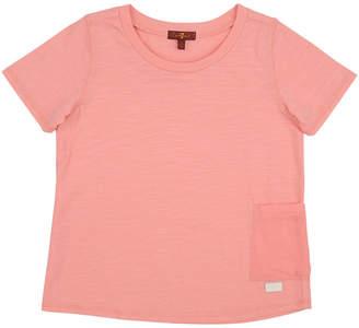 7 For All Mankind Seven 7 Garment-Dye T-Shirt