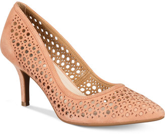 Alfani Women's Step 'N Flex Jennah Perforated Pumps, Only At Macy's Women's Shoes $69.50 thestylecure.com