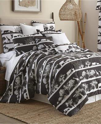 Colcha Linens African Safari Comforter Set Super King Bedding