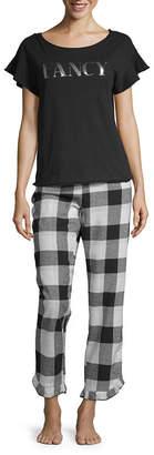Ambrielle Ruffle Pant Pajama Set