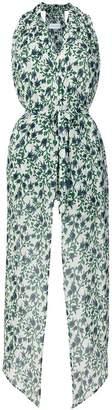 Christian Wijnants Taava floral halter blouse