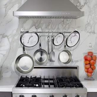 Rebrilliant Stainless Steel Wall Mounted Pot Rack
