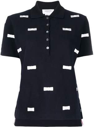 Thom Browne Bow Embroidery Polo