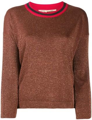 Bellerose contrast collar sweater
