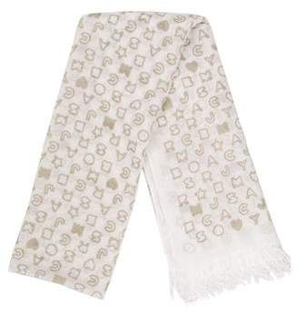 Marc by Marc Jacobs Printed Chiffon Scarf