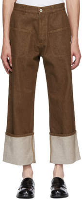 Loewe Brown Patch Pocket Trousers