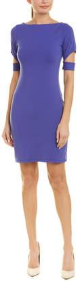 Susana Monaco Banded Cutout Sleeve Sheath Dress