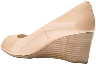 Cole Haan Sadie Open Toe Wedge Pump