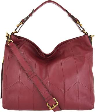 Oryany Pebble Leather Convertible Hobo Handbag -Arlene