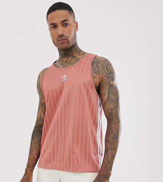 adidas adicolor Football Vest In Pink