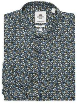 Ben Sherman Slim-Fit Floral Dress Shirt