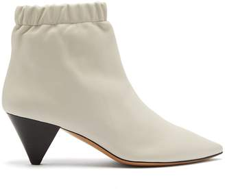 Isabel Marant Leffie leather ankle boots