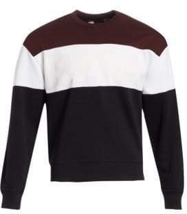 G Star Stripe Sweatshirt